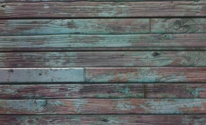 Old Painted Wood Textured Slatwall Slat Wall Belt Display Retail Wood