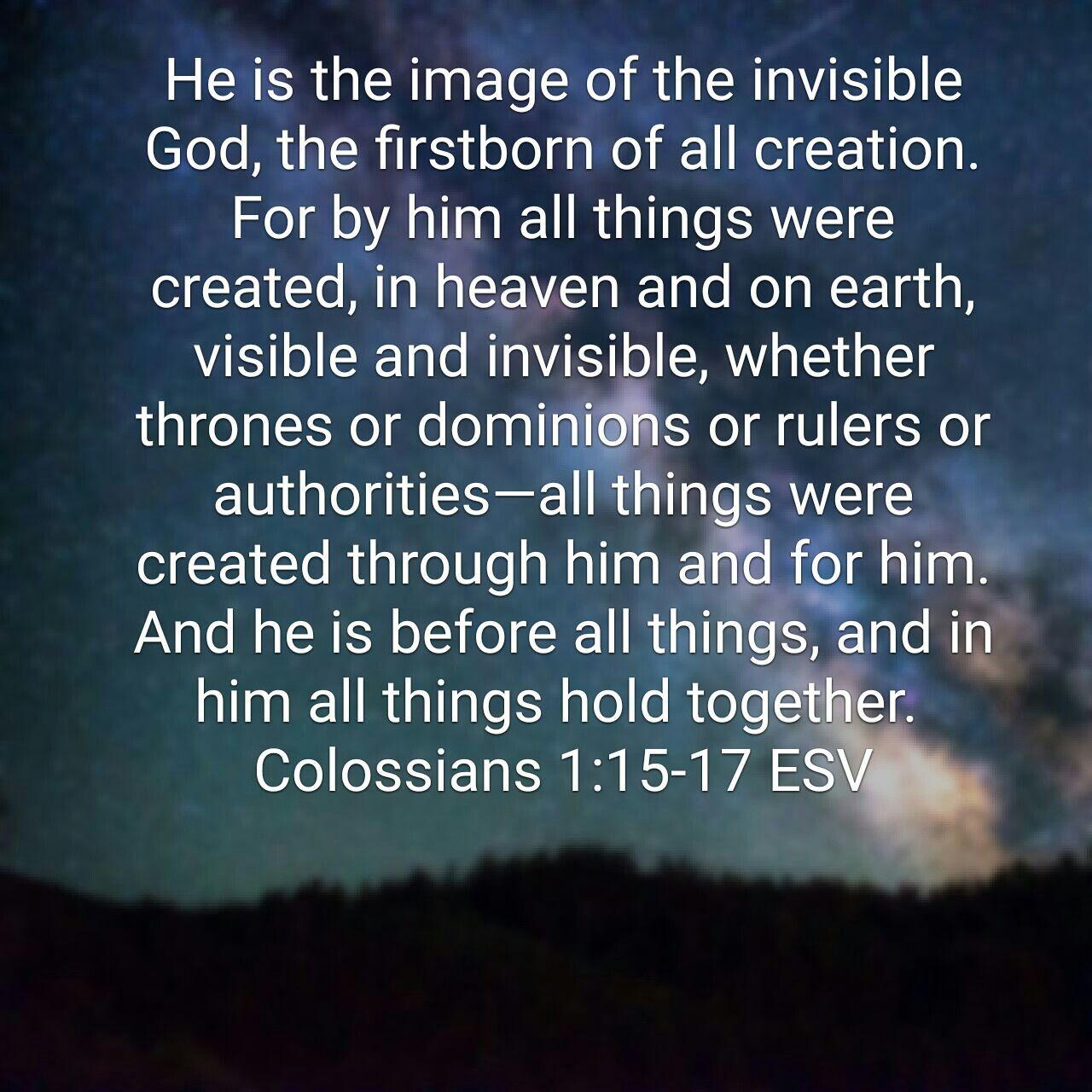 Colossians 11517 ESV Biblical encouragement