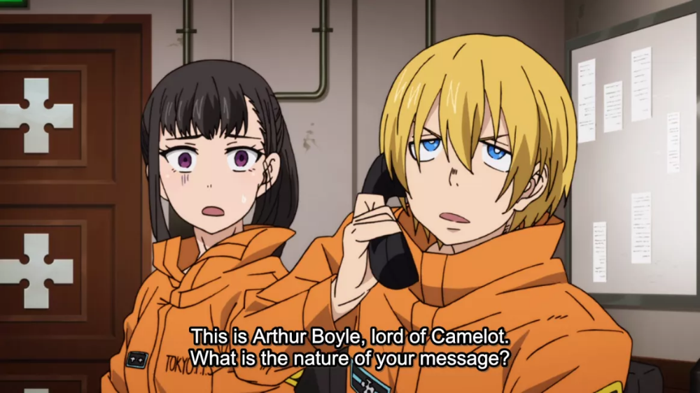 Fire Force Episode 4 Downpour Gallery Anime, Fire