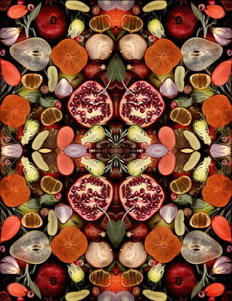 Artistic Scans by Hargreaves+Levin Reveal Beauty of Food