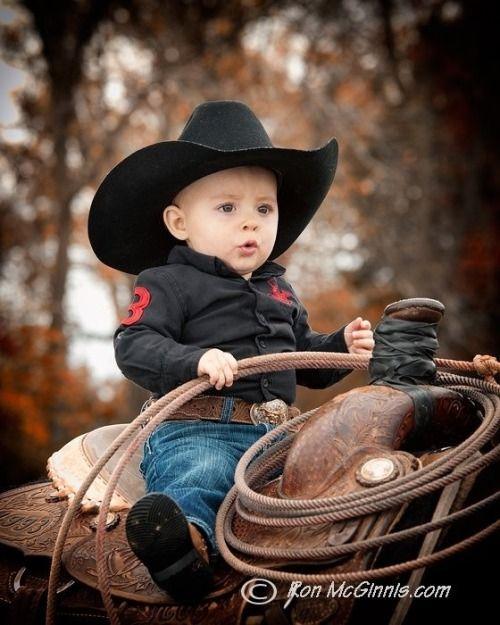 1e59d88ad6233e Ride 'em Cowboy! ~ Ron McGinnis Photography   Bebês fofos   Fotos de ...