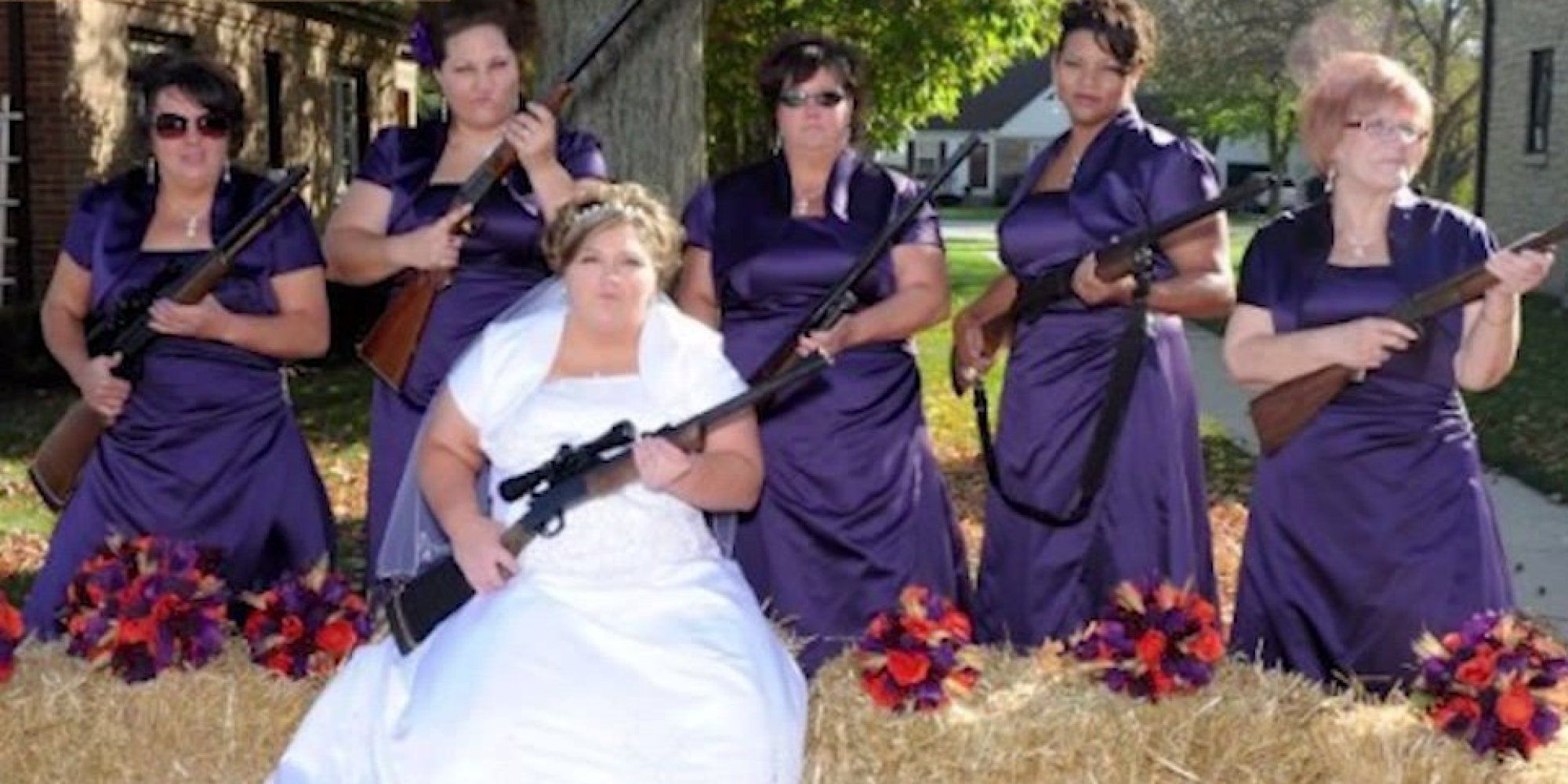 These bridesmaids photos are a train wreck and we just cant look these bridesmaids photos are a train wreck and we just cant look away ombrellifo Images
