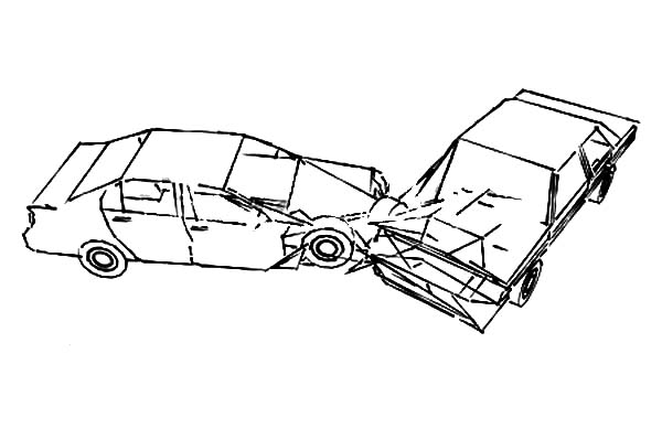 Drawing Crashed Cars Coloring Pages Netart Cars Coloring Pages Cartoon Wallpaper Hd Coloring Pages