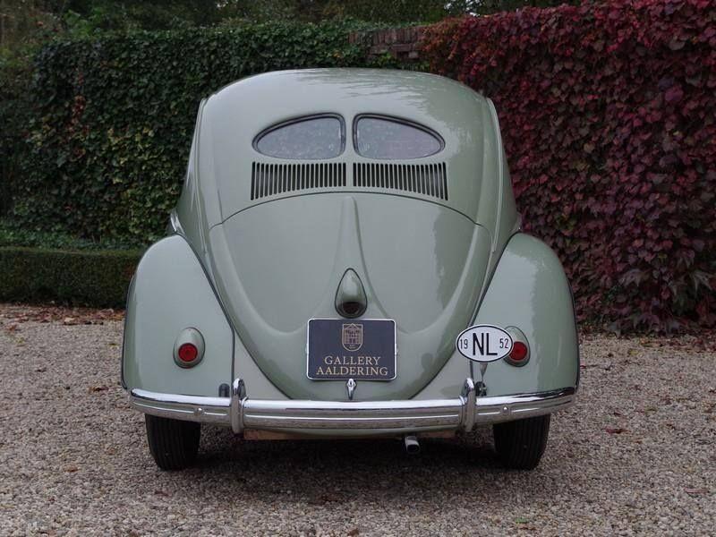 1952 Vw Beetle Split Window Volkswagen Classic Cars Beetle