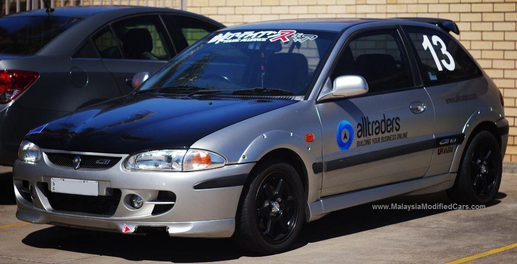Pin By 101modifiedcars Modifiedcars On Modified Proton Satria 1st