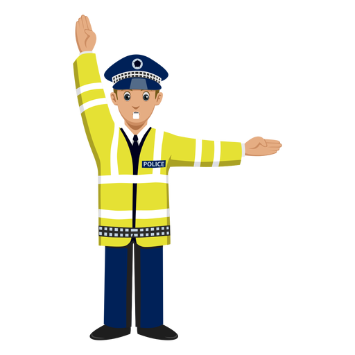 Traffic Police Signalling Png Free SVGs People Uploaded
