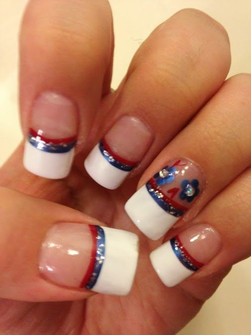 July nails - patriotic nails #patrioticnails #julynails - July Nails - Patriotic Nails #patrioticnails #julynails My Nail