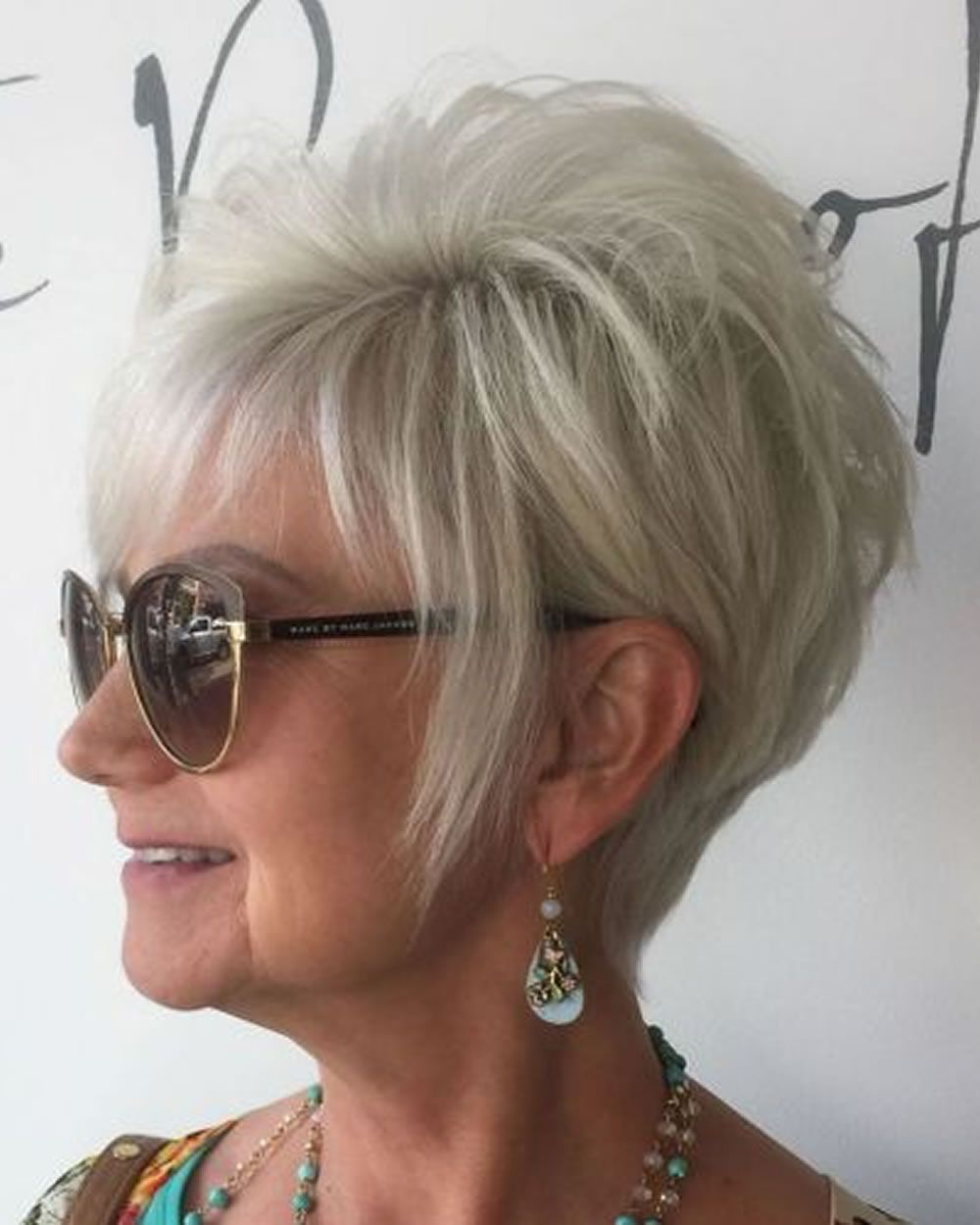 pixie short haircuts for older women over 50 & trend 2017 & 2018