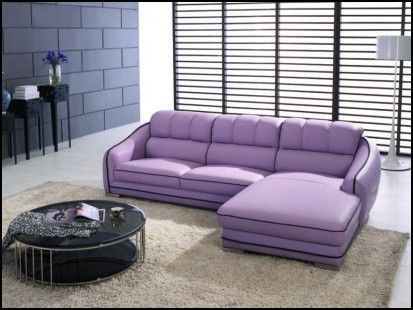 Lavender Leather sofa Couch & Sofa Gallery Pinterest