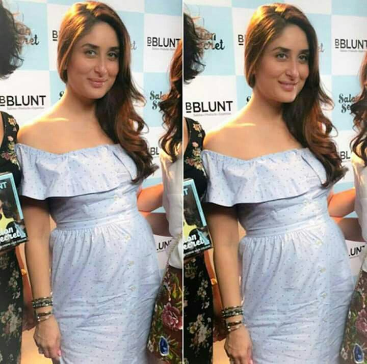 A Hugely Pregnant KAREENA KAPOOR KHAN Has Ample Reason To Be Beaming As Her Due Date Looms Overhead!!