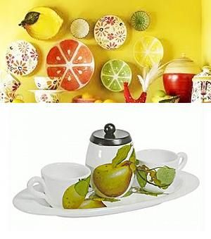 Fruit Themed Decorations Ideas And Functional Accessories Colorful Decor Apple Kitchen