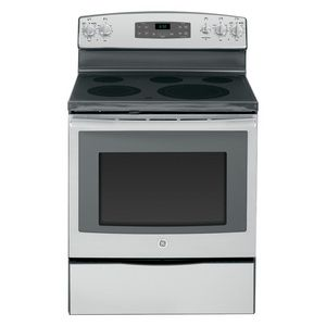 Ge 30 Free Standing Electric Range Stainless Steel Stoves Appliances Self Cleaning Ovens Stainless Steel Oven Electric Range