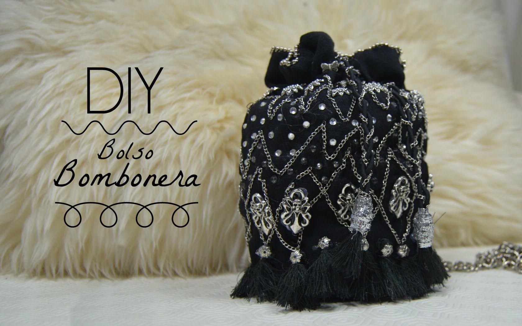 DIY Bolso Bombonera con Abalorios   Monica Beneyto