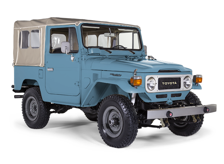 The FJ Company is the premier restorer of Toyota FJ Land Cruisers