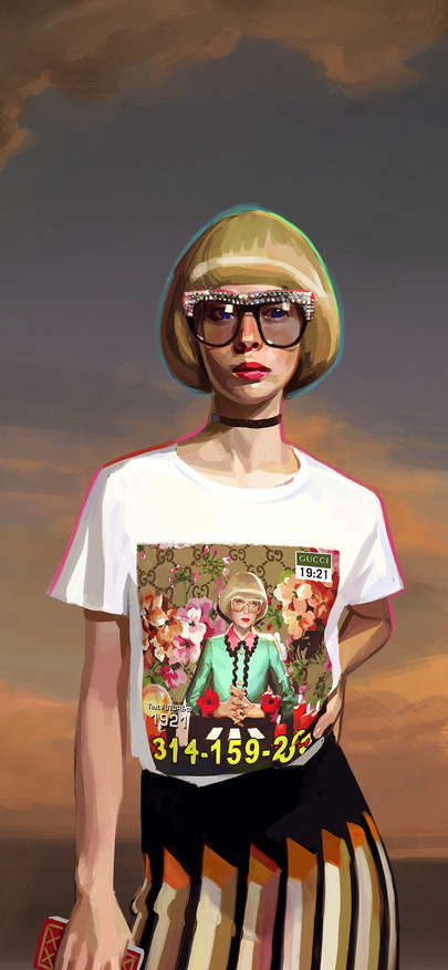 Gucci inserts Tshirt of picture brand luxury Wallpapers