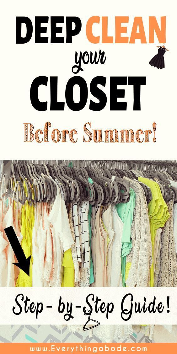 The Best Step by Step Guide to Thinning Out Your Closet - Everything Abode