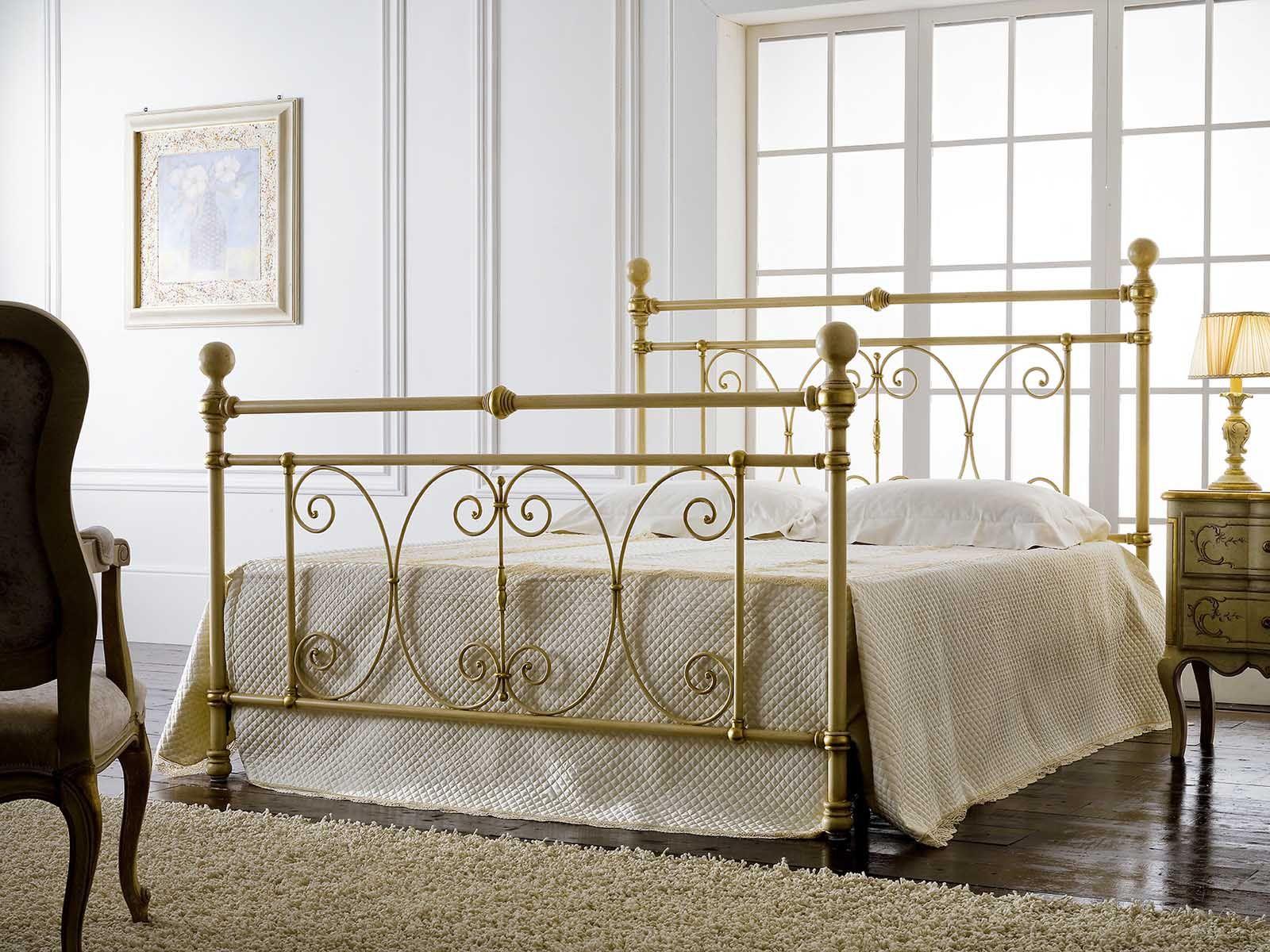 Englisches Bett MIMOSA. Elegantes Design aus Schmiedeeisen für Ihr ...