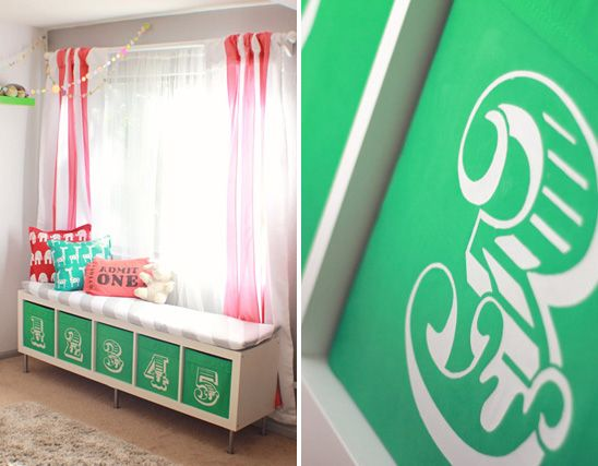 Superior Modern, Colorful Circus Themed Nursery Pictures