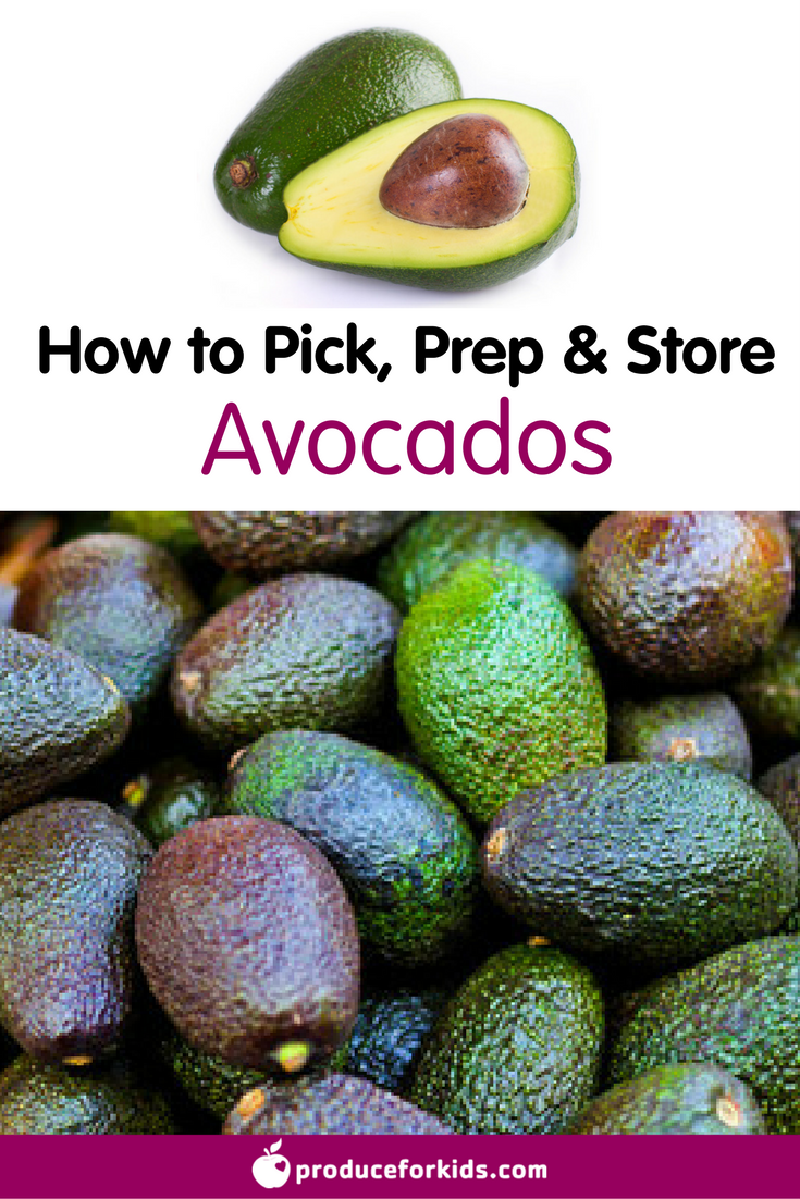 How to Pick, Prep & Store Avocados + nutrition information, recipes, fun facts and more!