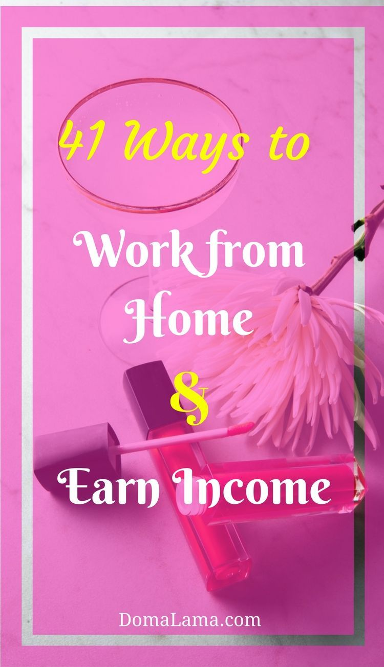 Earn Extra Money In Your Free Time Or Start A Business From Home