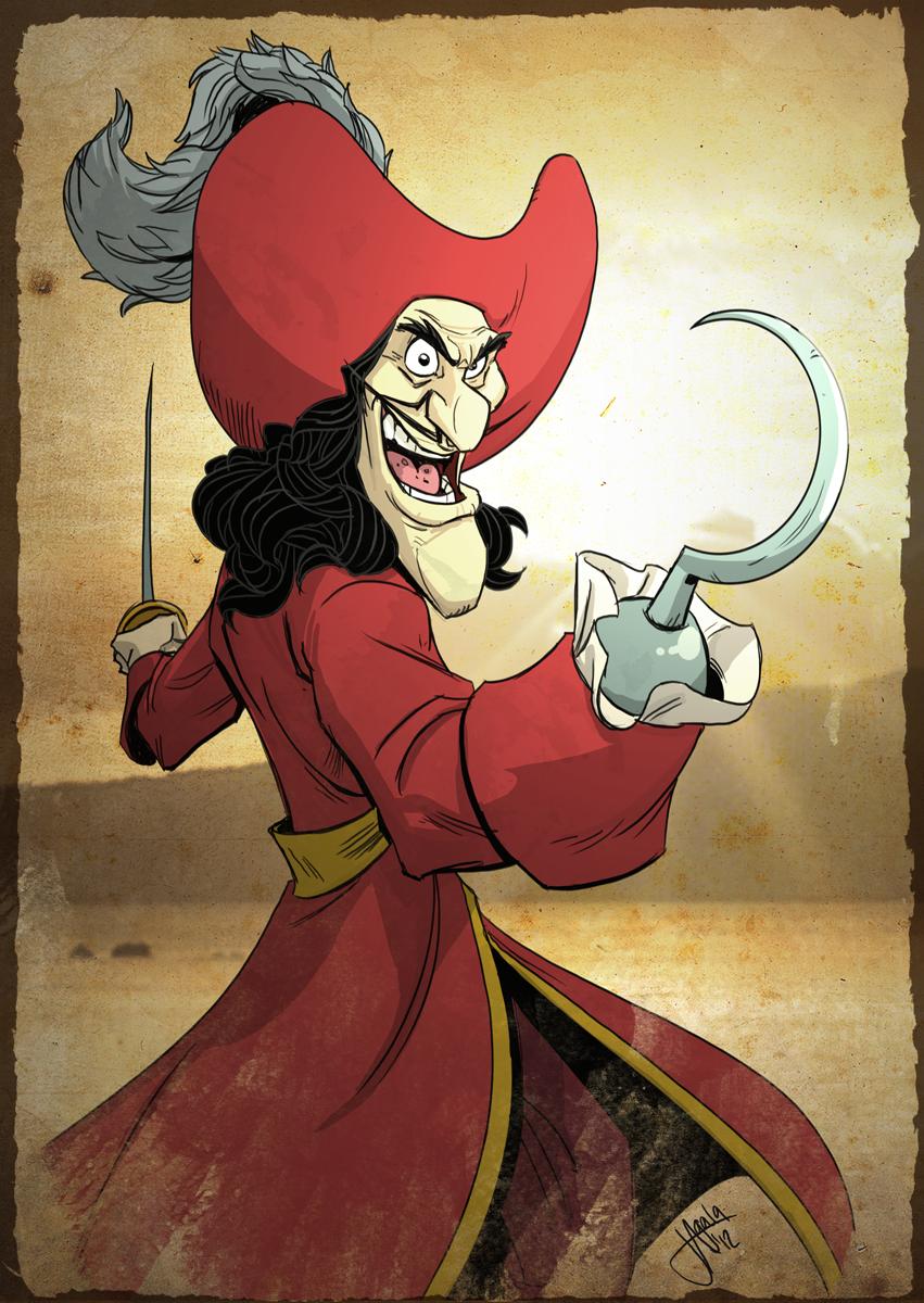 Captain Hook Fan Art Peter Pan Disney Disney Captain Hook [ png ]