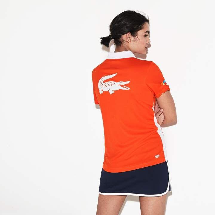 937dc3ce0 Lacoste Women's SPORT Miami Open Edition Colourblock Tech Pique Polo Shirt # Miami#Open#
