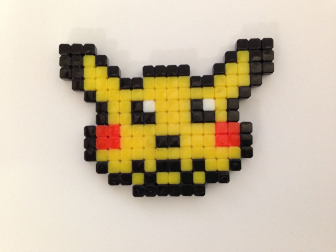 Pikachu In Qixels For The Boys Pinterest Pikachu