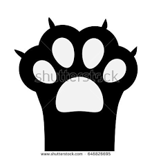 Image Result For Cat Paw Up Vector Cat Paws Paw Cats