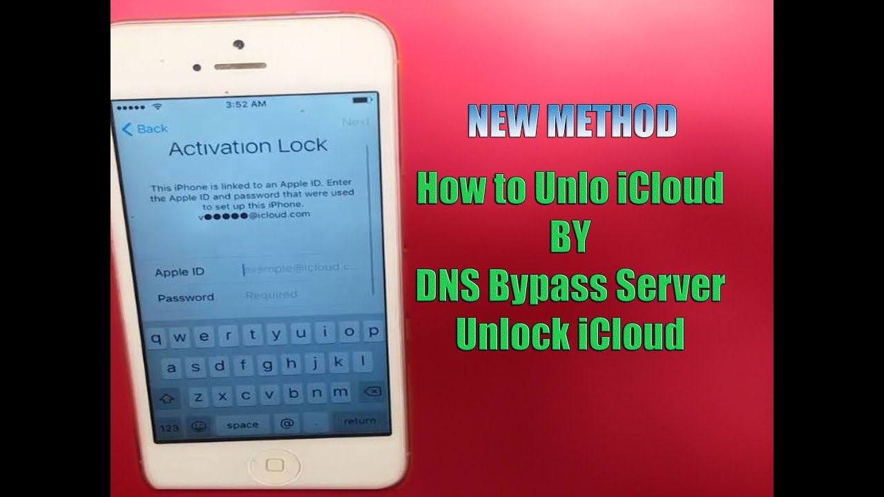 iphone activation lock dns code