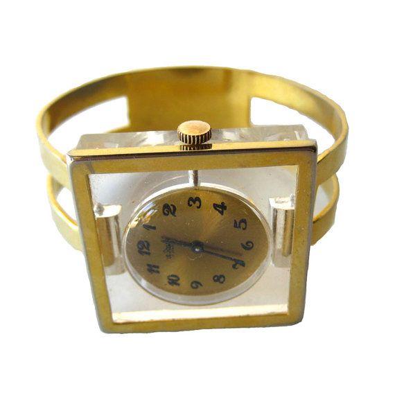Mod Le Jour Mechanical Watch Bracelet Mid Century 17 by openslate