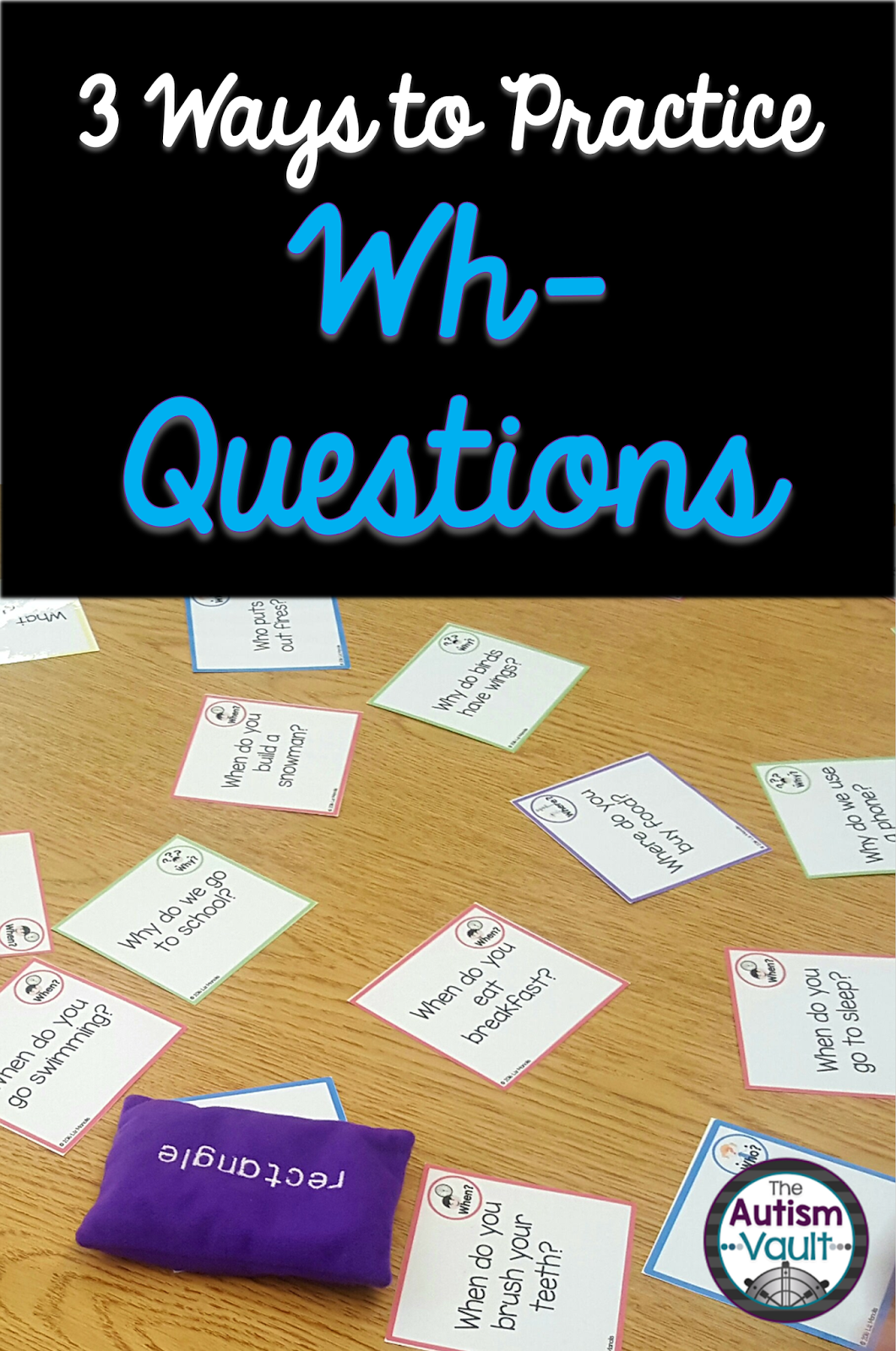 3 Ways To Practice Wh Questions