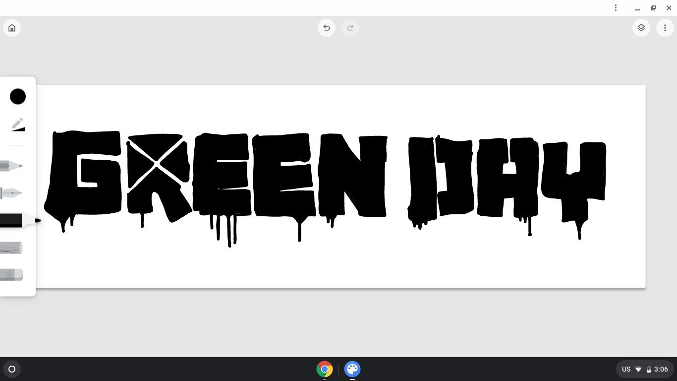 Quick Green Day Logo In 2020 Green Day Logo Green Day Green