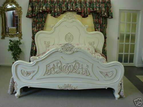 French Louis Style Ornate Bed