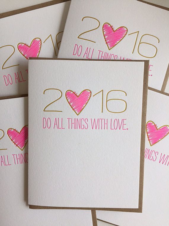 individual card size 425 x 55 letterpress printed on 100 cotton card stock blank inside for your own note printed in fluorescent pink and matte gold