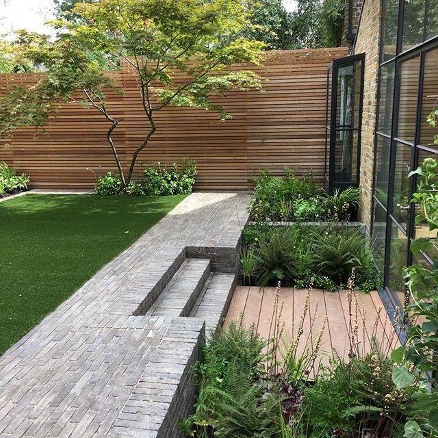 Untitled Sloped Garden Modern Garden Design Urban Garden