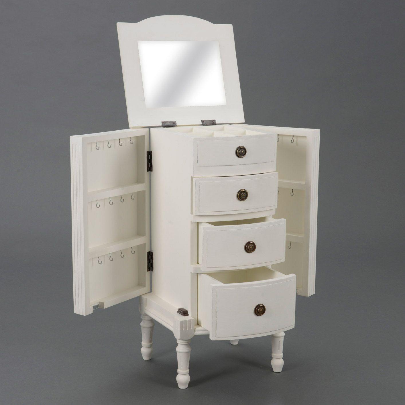 Rangement pour bijoux AGATHE Amadeus - Commode Delamaison - Bon-Shopping.com | Petit meuble ...