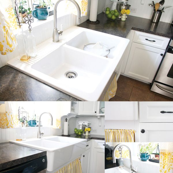 Ikea Showroom Kitchen: How To Paint Your Kitchen Cabinets + Back Them In Bead