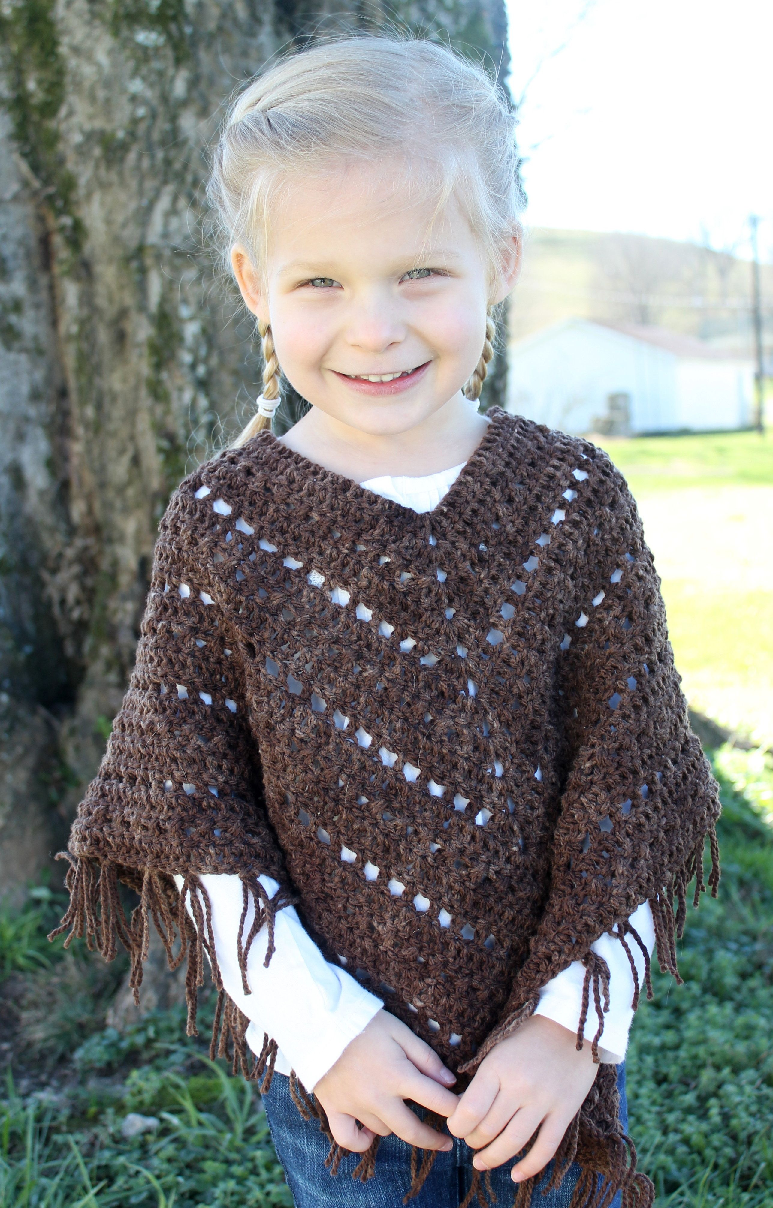 Crochet sweater for little fashionistas 8