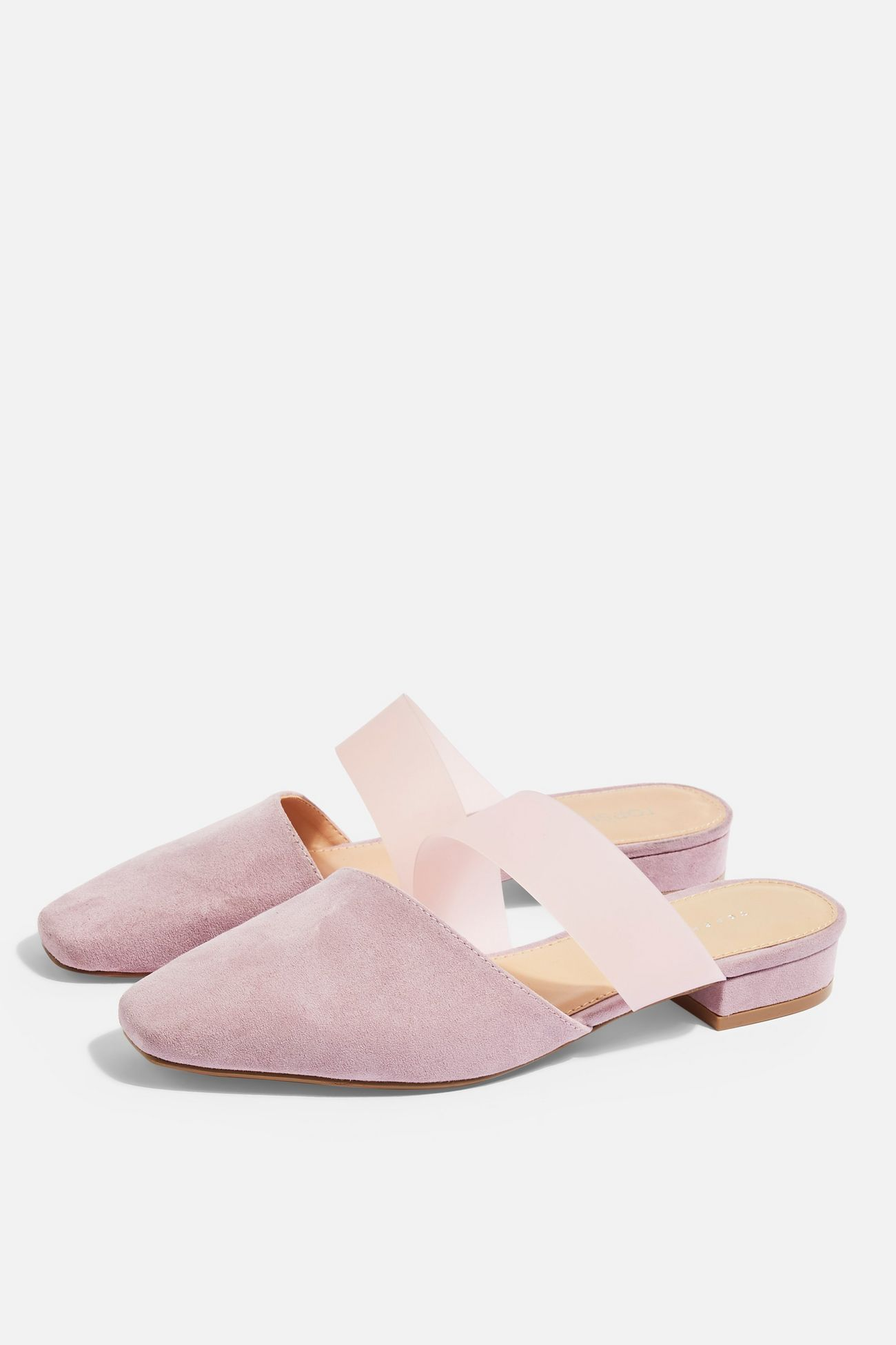 7d2358462a05e ALPHA Lilac Strap Mules in 2019 | Spring / Summer 2019 | Mules shoes ...