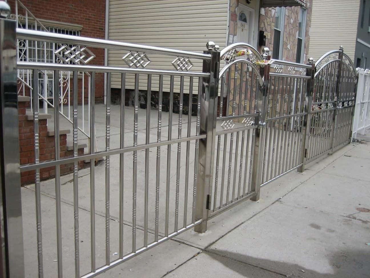 Benefits Using Stainless Steel Fences Steel Fence Window Grill Design Modern Outdoor
