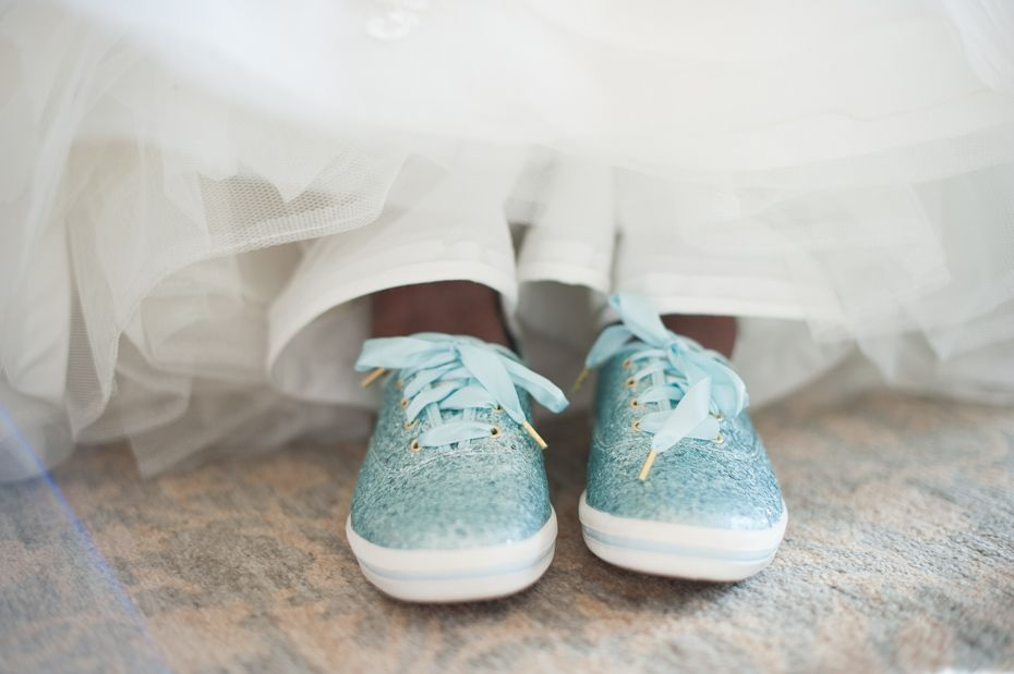 Blue Sparkly Wedding Shoes From Keds By Kate Spade Wedding