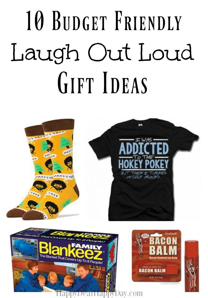10 Budget Friendly Laugh Out Loud Gift Ideas Happy Deal Happy Day White Elephant Gifts Exchange White Elephant Gift Exchange Ideas Funny Christmas Gifts For Kids