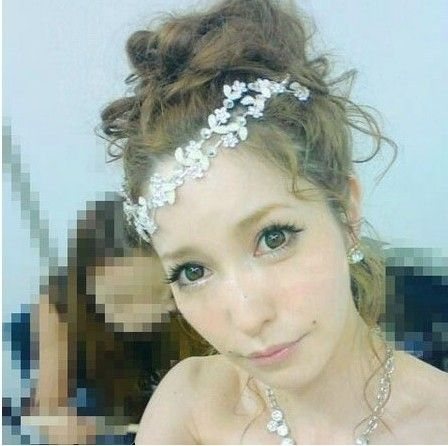 Charm Crystal Soft Headband Women Rhinestone Bead Hair Accessories Headwear Hot