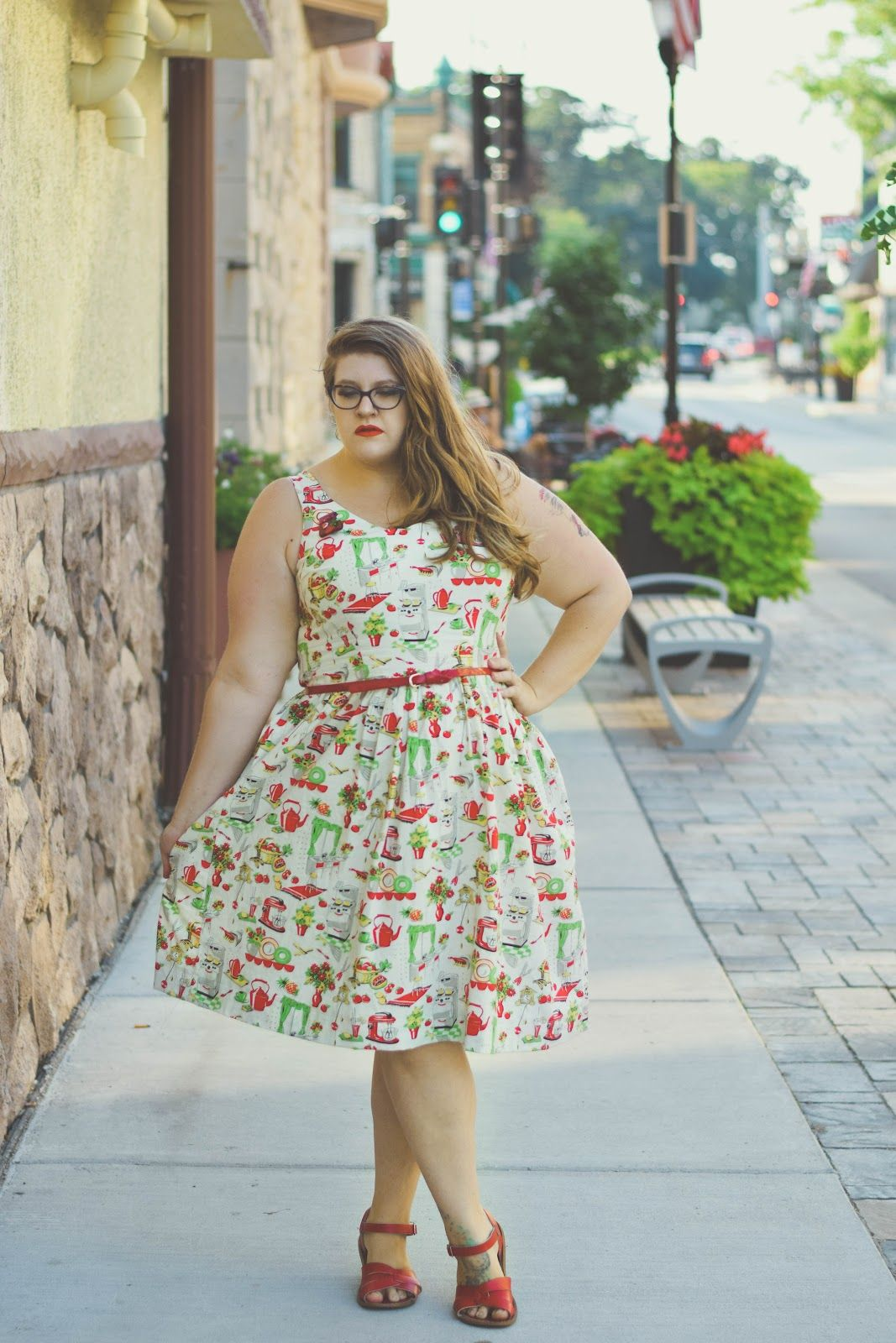 Lilou dress made by The Classy Junk - sewing pattern in Love at ...