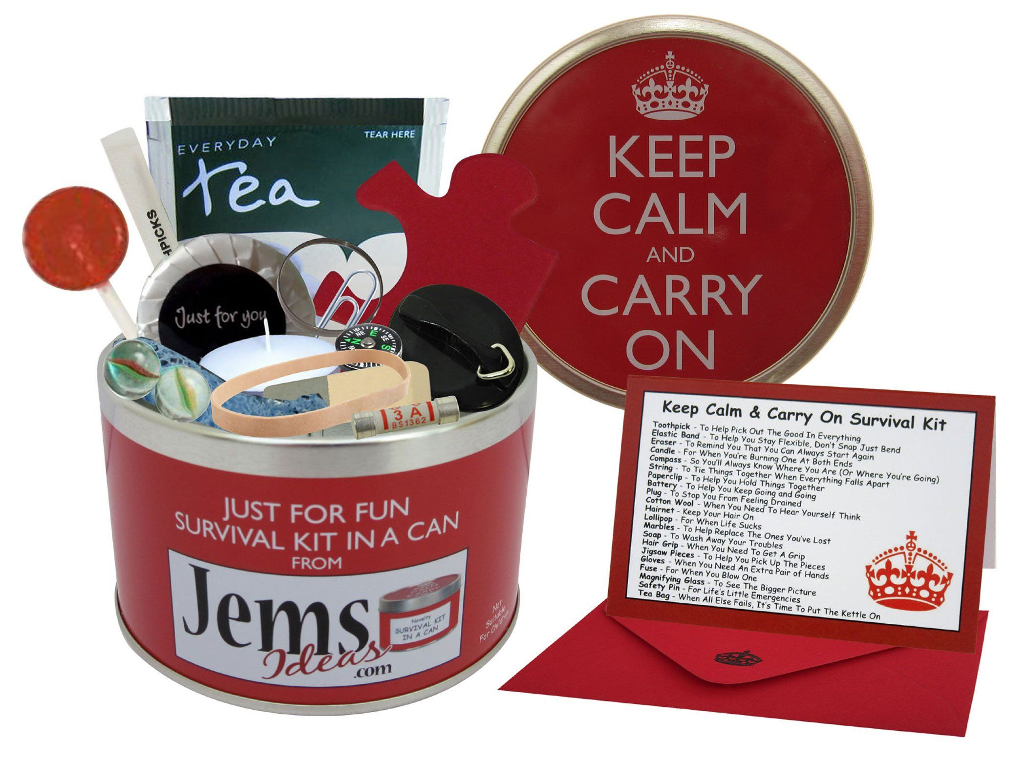 Christmas Gift Ideas For Retired Parents Part - 17: Survival Kit In A Can Humorous Novelty Fun Gift Present U0026 Card Gift Idea In  Home, Furniture U0026 DIY, Celebrations U0026 Occasions, Other Celebrations U0026  Occasions