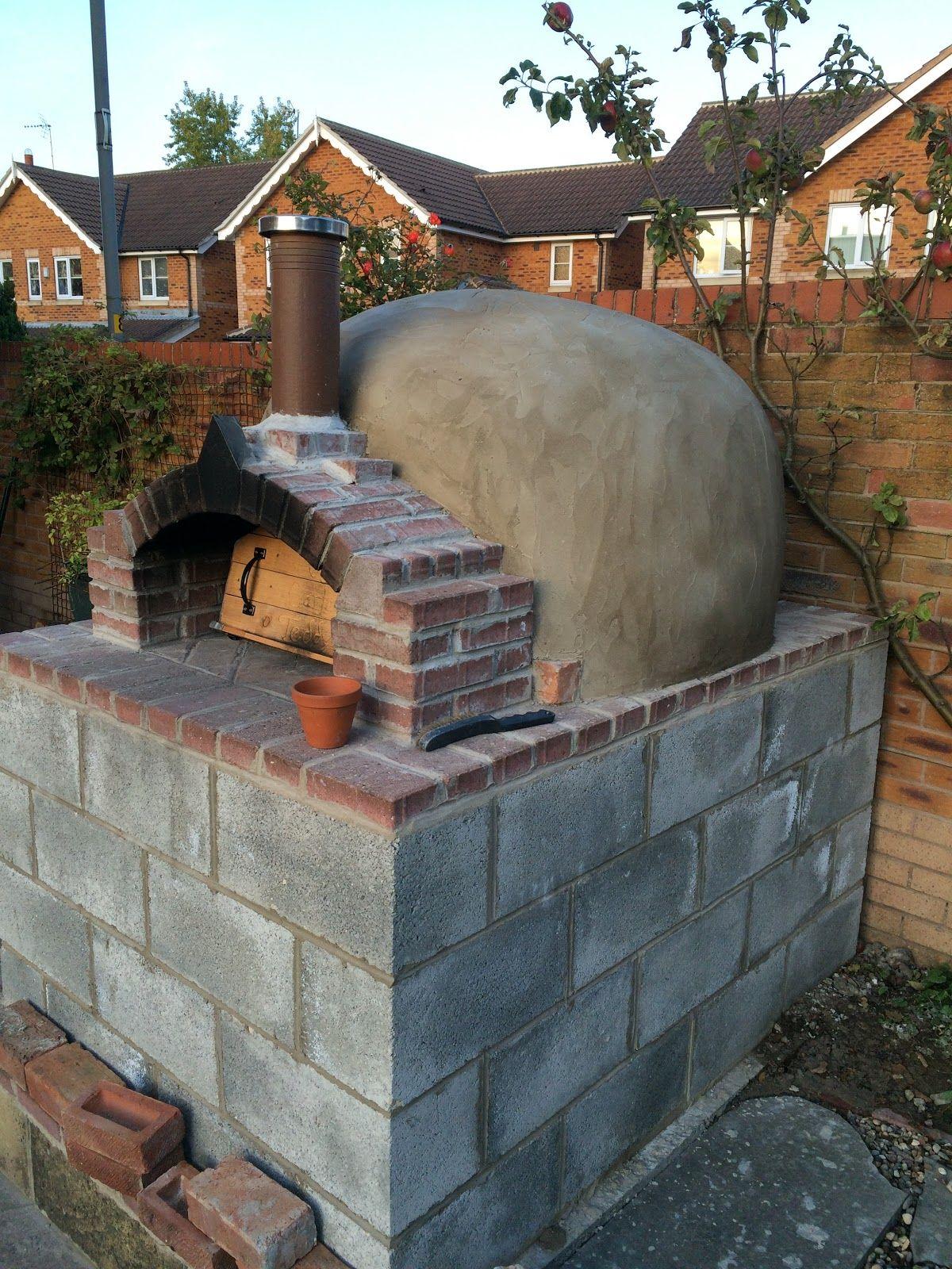 andys brick pizza oven - Brick Garden 2015