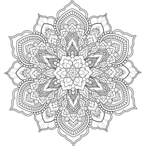 Corey Divine Tattoo Com Imagens Mandalas Para Colorir Figuras