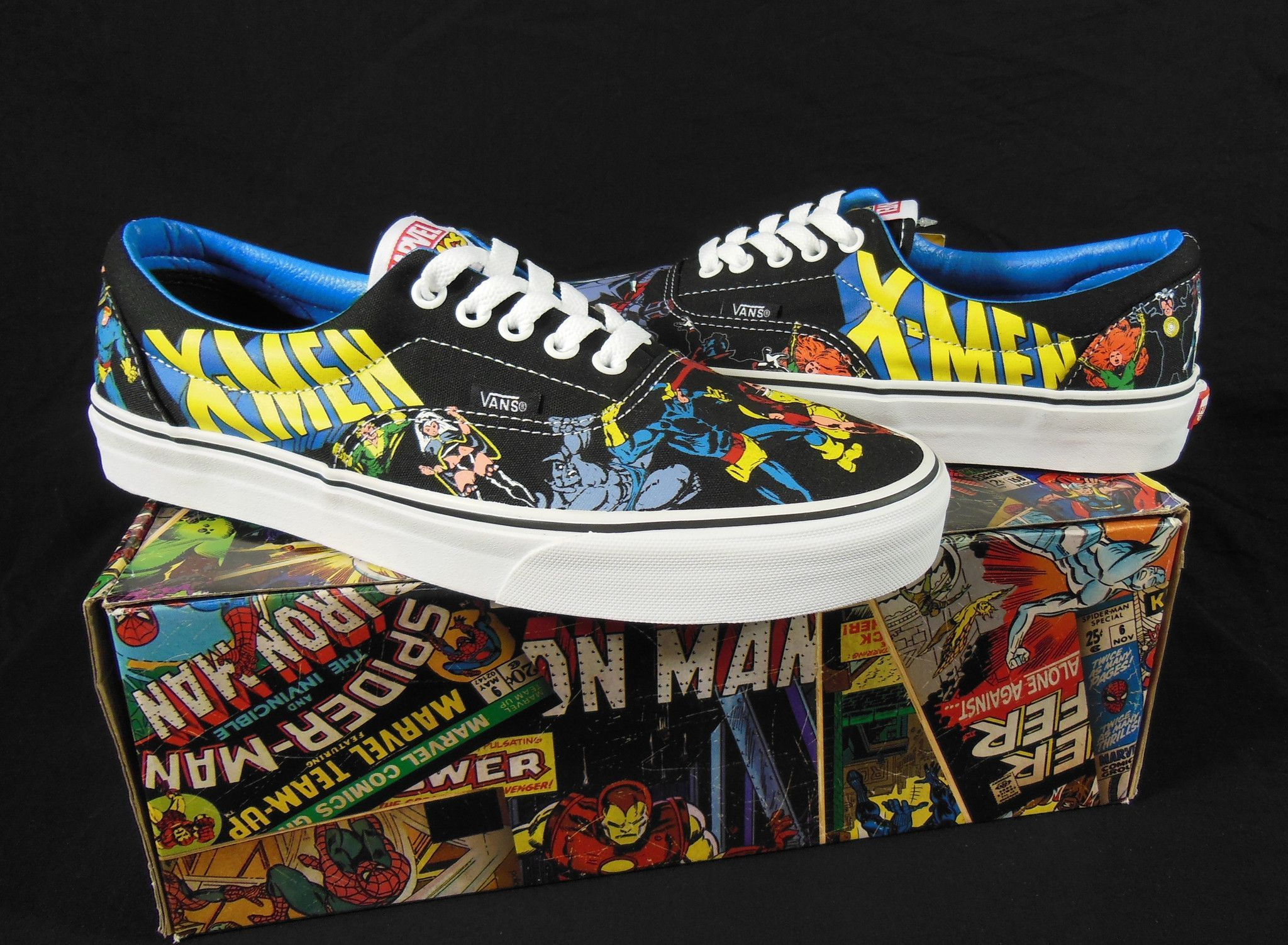 Vans X-Men Marvel Comics Kicks   Sneakers  df834520d2a8