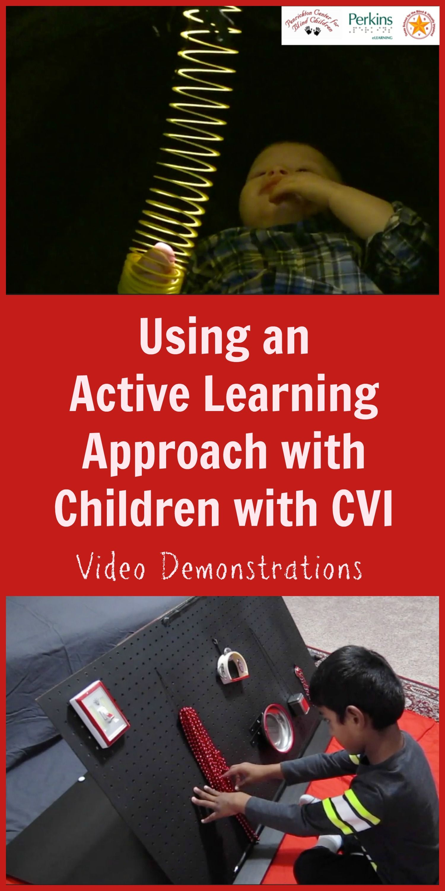 Using An Active Learning Approach With Learners With Cvi Cortical Visual Impairment Video