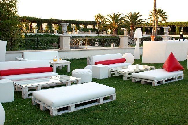 Muebles de palés de Fiaka Ambient   wwwfiakaes/blog/muebles - Terrazas Con Palets
